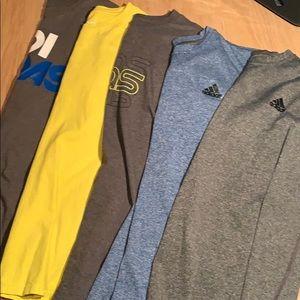 5 Adidas Shirts